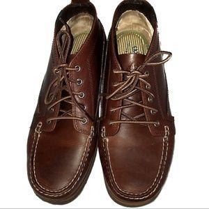 Eastland Seneca Leather Brown Chukka Boots